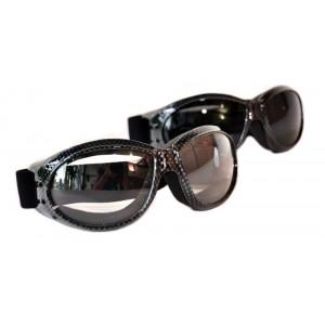 Очки Peerser Carbon Look (большие, широкая резинка)