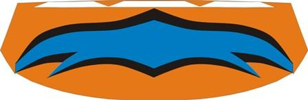 orange-black-blue