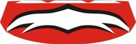red-black-white
